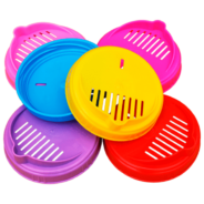 Крышка п/э (сливная, III-82 V) цветная