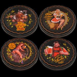 Крышка Твист-офф III-82 (ТОКК) Пиво Девочки-викинг черные