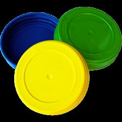 Крышка п/э (винтовая, III-100 V) цветная