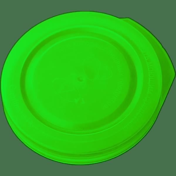 Крышка п/э (холодная, козырек) зелёная
