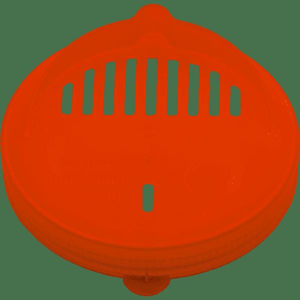 Крышка п/э (сливная, СКО) красная