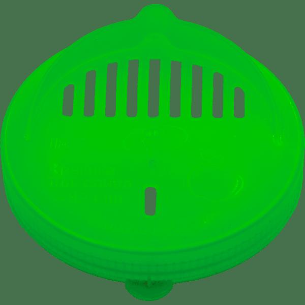 Крышка п/э (сливная, СКО) зелёная