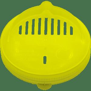 Крышка п/э (сливная, СКО) жёлтая