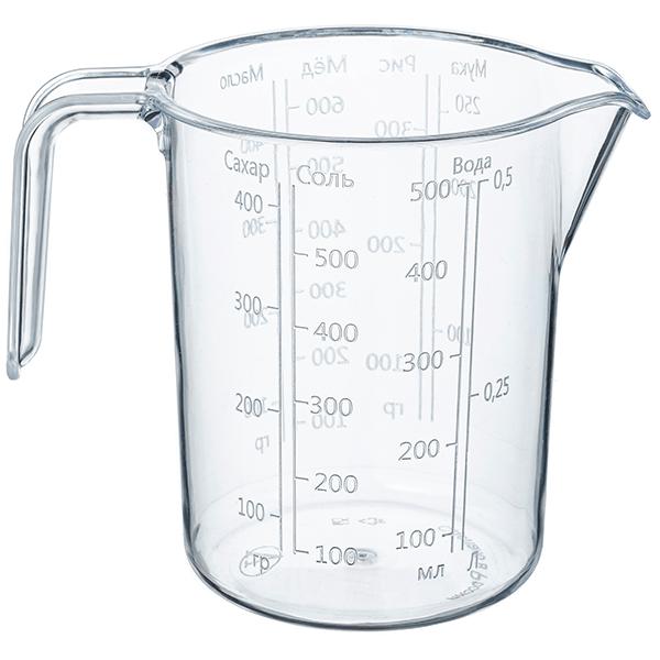 Мерный стакан 0.5 л.